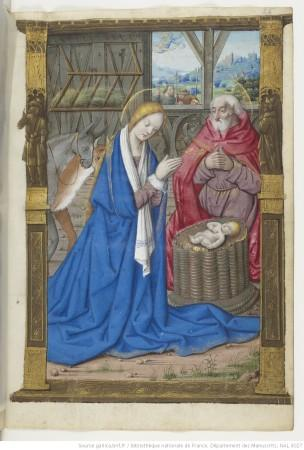1500-05 Maitre des Triomphes de Petrarque Petites Heures d'Anne de Bretagne Gallica BNF NAL 3027 fol 26r