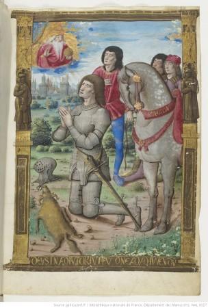 1500-05 Maitre des Triomphes de Petrarque Petites Heures d'Anne de Bretagne Gallica BNF NAL 3027 fol 29r