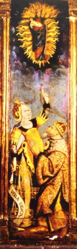1460-1500 Polyptyque de La vie de la Vierge eglise Notre-Dame de Montlucon