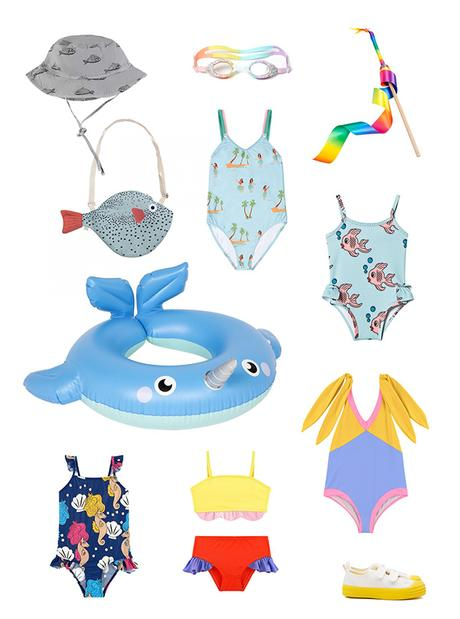 Les meilleurs maillots de bain pour les enfants cet été