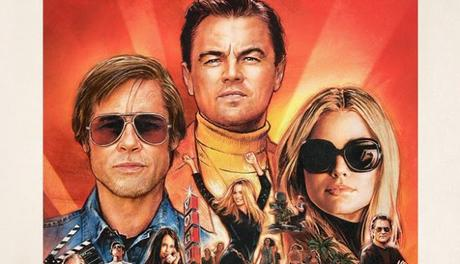 Nouvelle affiche US pour Once Upon a Time in Hollywood de Quentin Tarantino