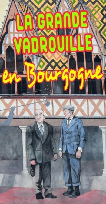 La Grande Vadrouille en Bourgogne Pinterest © French Moments
