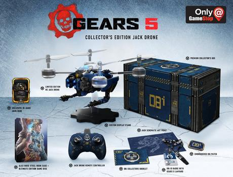 Gears 5 – Les éditions spéciales et collector