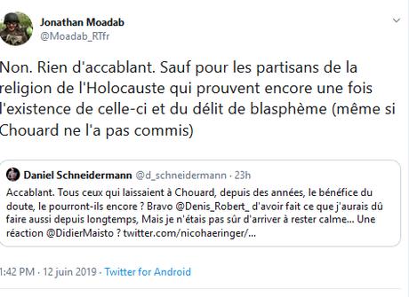 @MoadabJ, t'es grillé. Poke @RTenfrancais (cautionnez vous l' #antisémitisme ?)