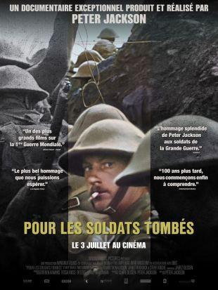 [Trailer] Pour les soldats tombés : le superbe documentaire de Peter Jackson sur la Première Guerre mondiale