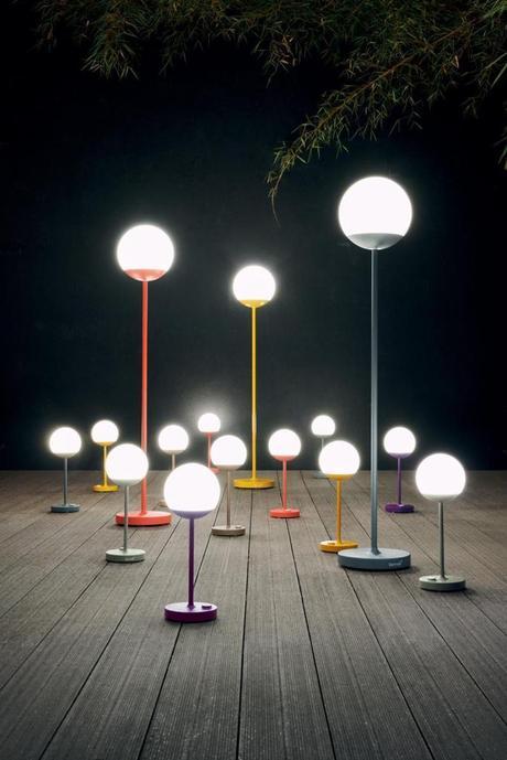 avis lampe moon fermob extérieur lampadaire led solaire jardin terrasse