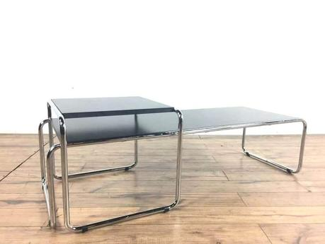breuer coffee table for knoll metal and laminate coffee table