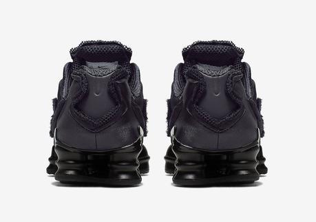 La Nike Shox TL x Comme Des Garçons est sortie aujourd'hui à Londres
