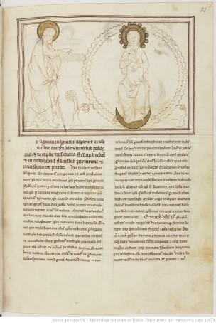 1275-1300 BNF Lat 10464 fol 21r