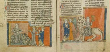 1300-20 Apocalypse de Toulouse BM Toulouse ms 815 fol 39v 40r