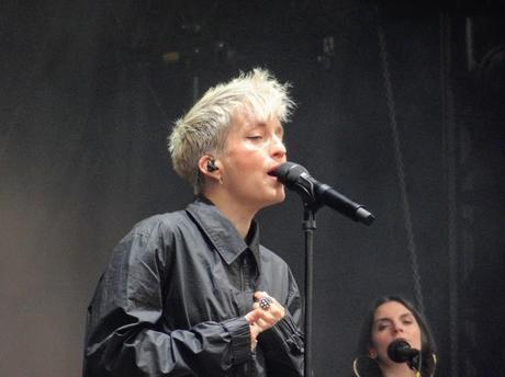 Festival Art Rock à Saint-Brieuc, jour trois, avec Nili Hadida, Jeanne Added, Angèle, le 9 juin 2019