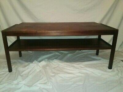 stanley coffee table mid century modern mahogany coffee table entertainment stand