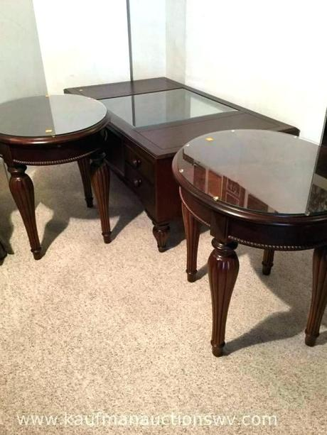 stanley coffee table furniture 4 drawer coffee table and two end tables furniture coffee table furniture round