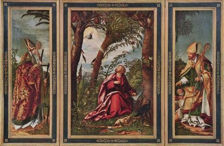 1508 Hans_burgkmair-st_john_the_evangelist_in_patmos alte pinakoyhek Munich