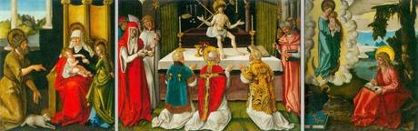 1511 ca _Baldung_Mass of St Gregory triptych reconstruction