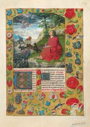 1497 Isabella breviary BL Ms. 18851 f. 309r,