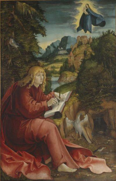 1515 Erhard Altdorfer St. John on Patmos Nelson-Atkins Museum of Art