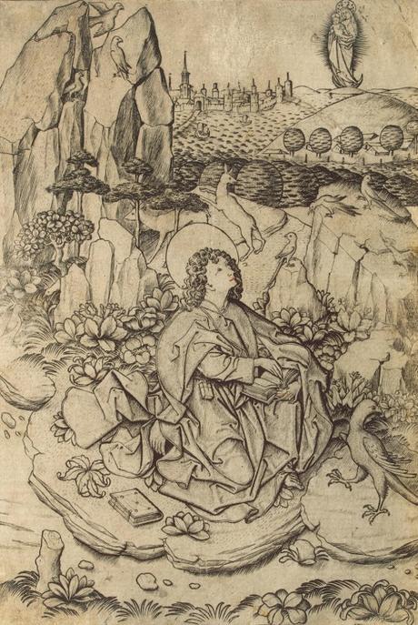 1460 ca Maitre ES St_John_the_Evangelist_in_Patmos