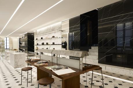 Le concept store Saint Laurent Rive Droite à ouvert à la place de Colette