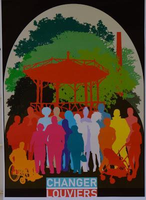 « Changer Louviers » avec Ingrid, Philippe, Sandrine, Hélène, Audrey, William et les autres. Leur réunion publique a attiré 100 personnes !