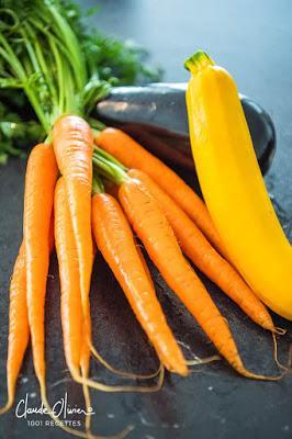 Des légumes confits, ça ne serait pas une idée d'Alain Passard ça ?