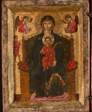 1275-85-Acre-Anonimo-veneziano-Madonna-con-Bambino-in-trono-angeli-e-donatore-The-Art-Institute-of-Chicago-Chicago