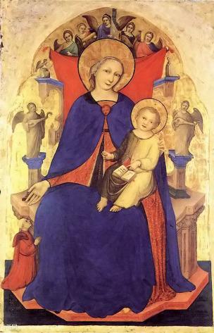 1394 ca Nicolo di Pietro Donateur Vulciano Belgarzone di Zara, Gallerie dell'Accademia, Venice