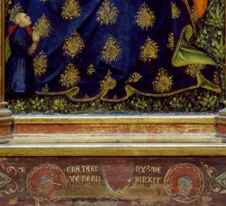 1380 ca Catarino Veneziano Humilite Walters Arts Gallery Baltimore signature