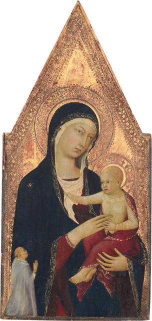 1325-30-Lippo-Memmi-Madonna-and-Child-with-Donor-NGA