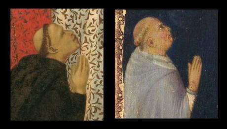 1320 Pietro Lorenzetti Philadelphia Museum of Art detail moine