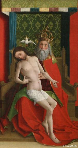 1440 Meister der Darmstadter Passion Trinite Berlin Gemaldegalerie