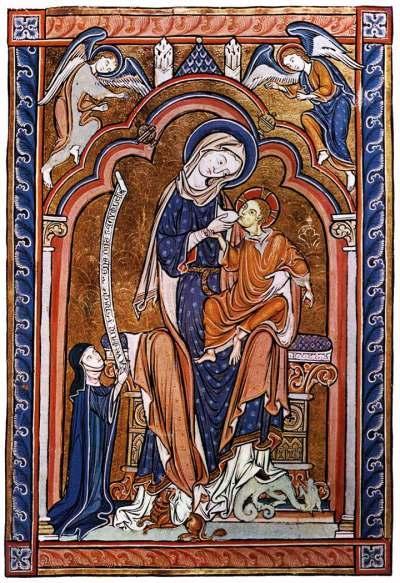 1250 ca Amasbury psalter Ms. 6 All Sou