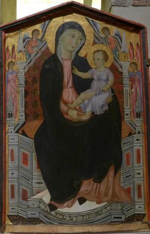 1300-24 Orlandi Deodato Madonna con Bambino in trono Pise, Musee national d'art