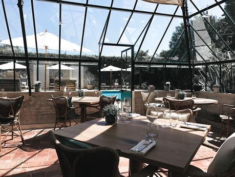 Découverte du restaurant le Petit Jardin au Château la Chenevière