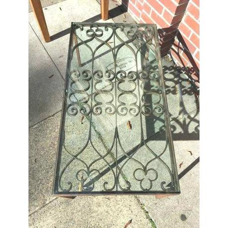 iron gate coffee table iron gate coffee table elegant french wrought iron gate coffee table picture