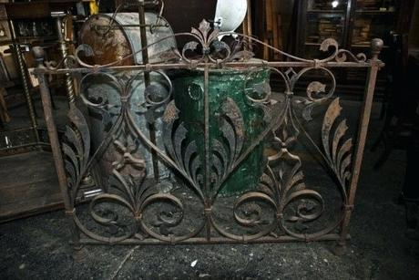 iron gate coffee table likable antique iron gate coffee table