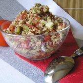 salade de quinoa gourmand - auxdelicesdemanue