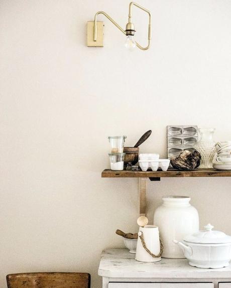 maison style italien cuisine blanche ustensiles - blog déco - clem around the corner
