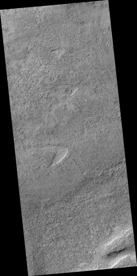 Le symbole de Star Trek découvert sur Mars