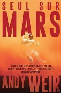 lecture : Seul sur Mars d'Andy WEIR