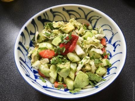 La Californie – Ma salade… californienne !