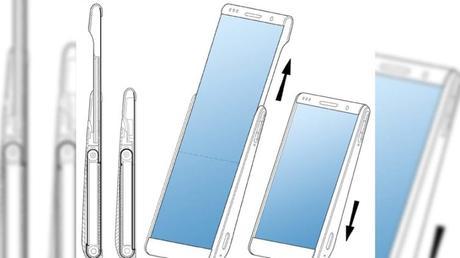 Smartphone du futur : Samsung imagine un écran déroulable