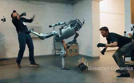 Quand le robot de Boston Dynamics se rebelle