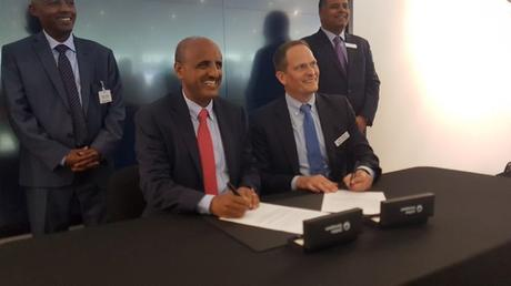 Collins Aerospace signs its first MRO agreement with Ethiopian Airlines