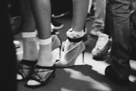 On était en backstage du défilé Heron Preston à Paris