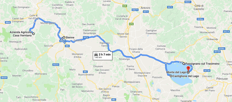 Roadbook sous le soleil de Toscane