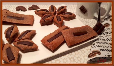Financiers au chocolat