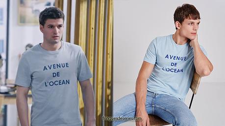 PLUS BELLE LA VIE : le t-shirt «avenue de l'océan» de César dans l'épisode 3827