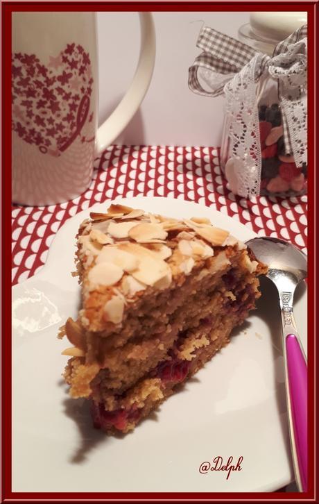 Gâteau Framboises et Ricotta