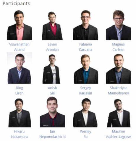 Le choc Carlsen vs Caruana est très attendu - Photo site officiel
